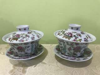 Chinese 寿桃 Tea Cup
