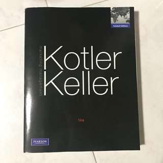 Kotler Keller Marketing Management Textbook