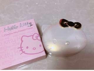 Hello kitty粉餅