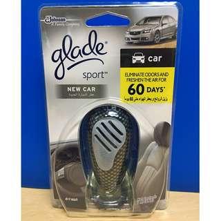 glade sport new car freshener