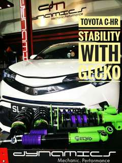Toyota C-HR : GECKO Racing Performance Coilover