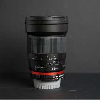 Samyang 35MM F1.4 UMC Nikon