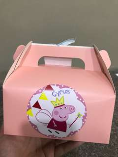Peppa Pig Goody Box!