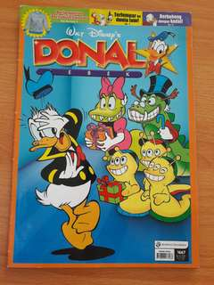 Preloved Komik Donald Bebek Buku Gede