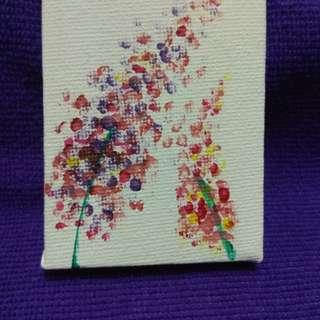 Lavender paintings