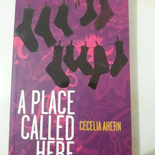 "Preloved novel "" A place called here"" by Cecelia ahern"