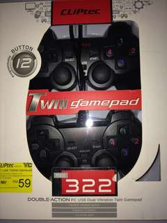 CLIPtec PC Dual Gamepad