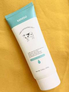 Miniso Milk Exfoliating Gel
