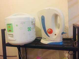 Rice cooker + Kettle