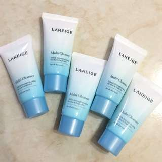 Laneige Mini Cleansers!