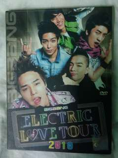 [FULLSET] BIGBANG ELECTRIC TOUR DVD