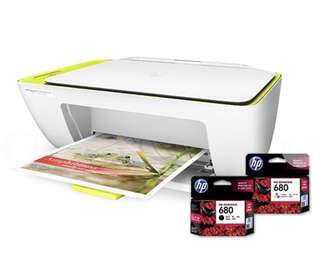 Print Scan Copy HP All-In-One Printer with Cartridges
