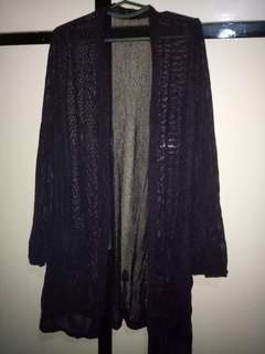 Knitted Beach Cover Up Cardigan