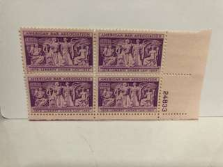 USA STAMP BLOCK OF 4 (MINT)