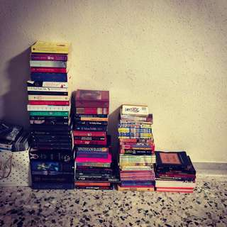 Bunch of books )ALL OR NOTHING)