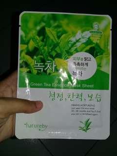Natureby Green Tea Essence Mask Sheet