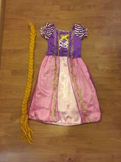 Princess Rapunzel Tangled party dress / costume