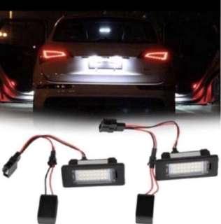 LED License Plate Lights for AUDI