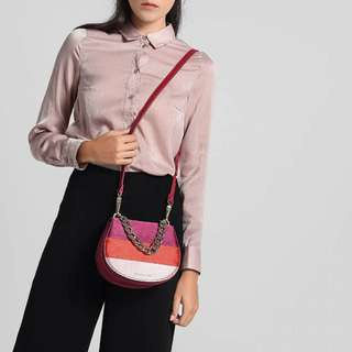 CNK metal chain portable saddle bag