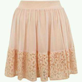 Skirt with Lace Miss Selfridge