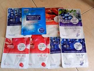 Take all korean masks free shipping