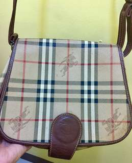 Burberry messenger sling bag