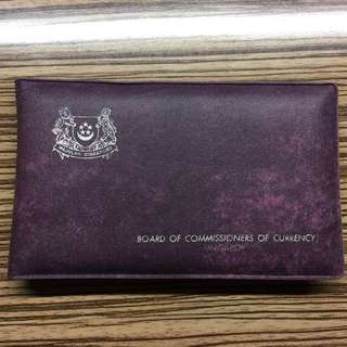 Singapore 1978 UNC coin set