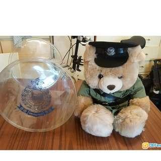 警察部制服熊仔 真的原自警察部