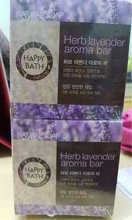 Happy Bath! Herb Laverder Aroma Bar