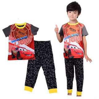 Lightning McQueen 2-7 yrs old Pajamas