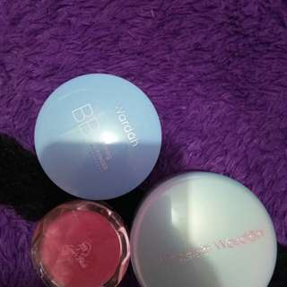 Bedak padat, tabur, blushon. Take all 70k