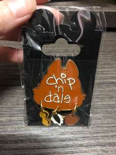 Disney pin chip and dale