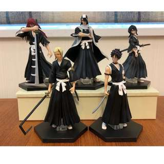 BLEACH  Rukia Kuchiki 5pcs Very Rare figures