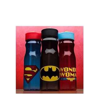 ZAK DESIGNS DC COMICS 25 OZ. WATER BOTTLE With Straw , thumbler Batman ,Wonder woman ,Superman