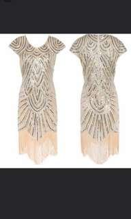 Great Gatsby Dress & Headgear