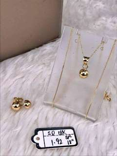 18k SD gold set pawnable