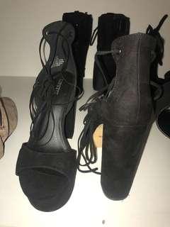 Lipstick heels rrp $90