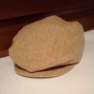 全新Petit Chou(麗嬰房plus+進口的高級品牌/鴨嘴帽/報童帽)