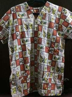 Preloved Winnie The Pooh nurse uniform