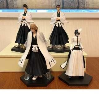 BLEACH Sōsuke Aizen Urahara Set 4pcs Rare figures
