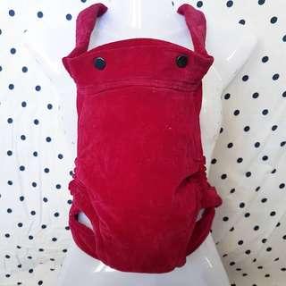 Mei tai Baby Carrier (baldu merah)
