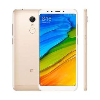 Kredit Xiaomi Redmi 5 Plus 32GB Gold Garansi TAM