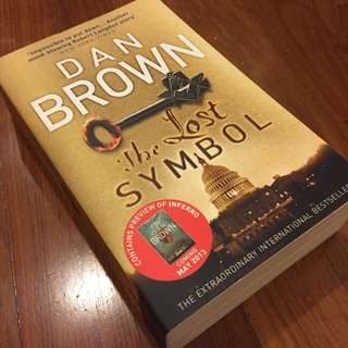 (Save $7, 50% off) The Lost Symbol : (Robert Langdon Book 3) by Dan Brown (U.P. $14)