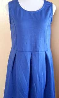 3X Forever 21 Plus Size Blue Sleeveless Dress