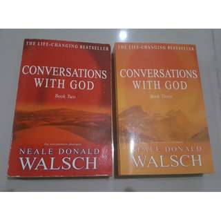 Conversations with God (Books 2 and 3) #letgo4raya