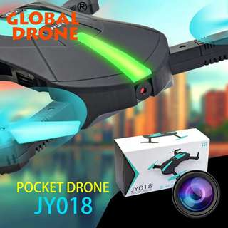 Mini Pocket Drone JY018 camera flying phone controlling