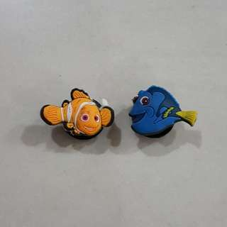 Nemo & Dory, Jibbitz Shoe Charms (For Crocs Clog)