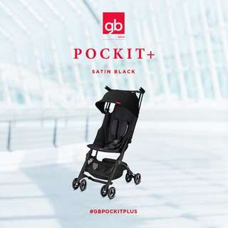 GB POCKIT PLUS GOLD 2018 - Satin Black