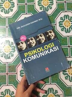 Buku Psikologi Komunikasi