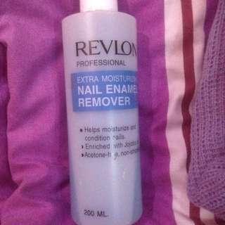 nail polish remover revlon